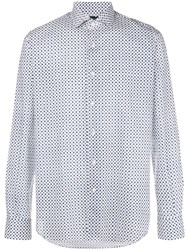 Orian Micro Patterned Shirt White