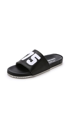Les Art Ists X Swear Slides Black