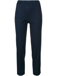 Piazza Sempione Tapered Trousers Blue