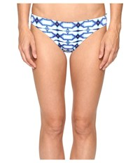 Michael Michael Kors Summer Breeze Classic Bikini Bottom New Navy Women's Swimwear