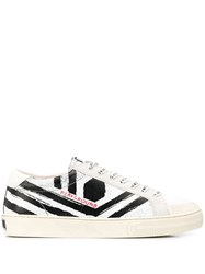 Moa Master Of Arts Playground Distressed Sneakers White