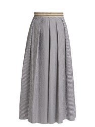 Max Mara Aulla Skirt Black White