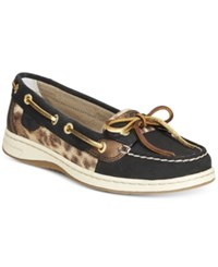 Sperry Angelfish Boat Shoes Women's Shoes Black Gold