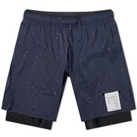 Satisfy Trail Long Distance 10 Short Blue