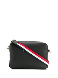 Tommy Hilfiger Logo Stripe Shoulder Bag Blue