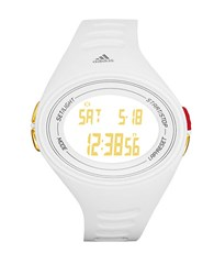Adidas Mens Adizero Basic White Polyurethane Watch