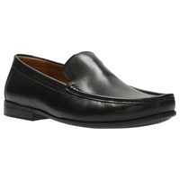 Clarks Claude Leather Loafers