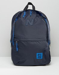 New Balance 410 Backpack In Blue Blue