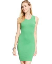 Say What Juniors' Draped Back Bodycon Tank Dress