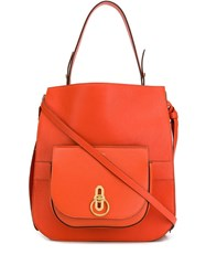 Mulberry Amberley Tote Orange
