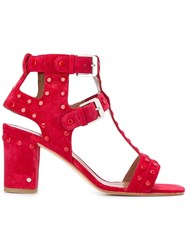 Laurence Dacade Helie Sandals Red