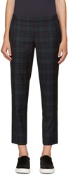 6397 Green Plaid Trousers