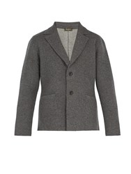 Berluti Cashmere And Wool Blend Blazer Grey