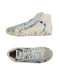 Springa Footwear High Tops And Trainers Men Beige