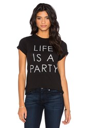 Daydreamer Life Is A Party Tee Black
