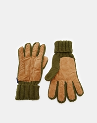Penfield Forbes Gloves Olive