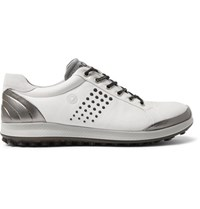 Ecco Golf Biom Hybrid 2 Leather Golf Shoes White