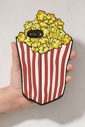 Urban Outfitters Popcorn Silicone Iphone 8 7 6 Plus Case Yellow