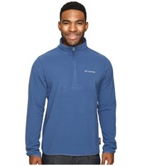 Columbia Ridge Repeat Half Zip Fleece Night Tide Men's Sweatshirt Blue