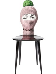 Fornasetti Lux Gstaad Chair Pink And Purple