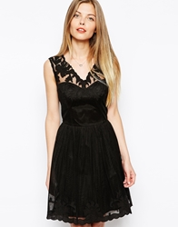 Asos Gothic Prom Dress Black