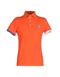 Sweet Years Topwear Polo Shirts Men Orange