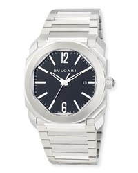 Bulgari 41Mm Stainless Steel Octo Solotempo Watch