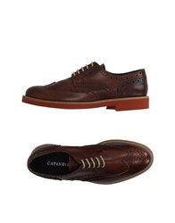 Cafe'noir Cafenoir Footwear Lace Up Shoes Men Dark Brown