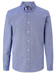 John Lewis Long Sleeve Oxford Shirt Blue
