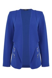 Roman Originals Double Zip Detail Jacket Blue