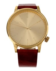 Komono Wrist Watches Gold
