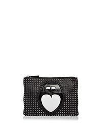 Nasty Gal Studded Crossbody Mouth Off