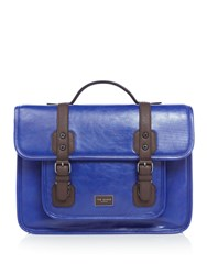 Ted Baker Tequilla Coloured Satchel Blue