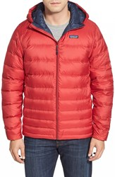Men's Patagonia Packable Down Jacket Classic Red