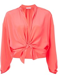 Tome Bow Tied Cropped Top Unavailable
