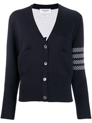 Thom Browne 4 Bar Dolphin Embroidered Cardigan 60
