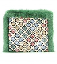 Shrimps Candy Clutch Green