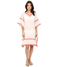 Vince Camuto Shore Side Tunic Cover Up Coral Sugar Women's Swimwear Pink
