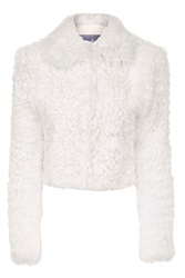 Maida Chubby Shearling Jacket By Unique Cream