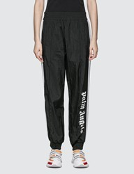 Palm Angels Over Logo Track Pants Black