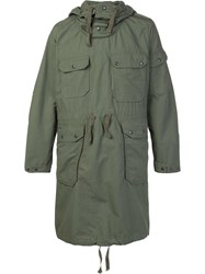 Engineered Garments Oversized Parka Green