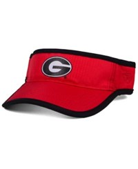 Top Of The World Georgia Bulldogs Baked Visor Red