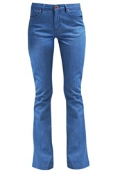 2Nd Day Fabia Baby Bootcut Jeans Indigo Stone Blue Denim