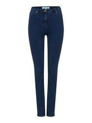 Dickins And Jones Sally Slim Leg Jean Navy