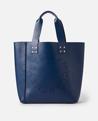 Stella Mccartney Blue Tote Bag