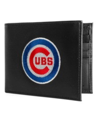 Rico Industries Chicago Cubs Black Bifold Wallet