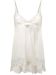 Gilda And Pearl Deshabille Babydoll Chemise Neutrals