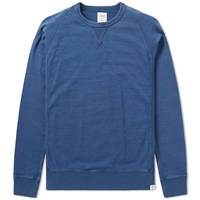 Bedwin And The Heartbreakers Langston Crew Sweat Blue