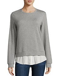 Bailey 44 Soft Shackel Sweatshirt Grey