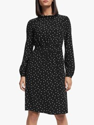 Boden Lucinda Dress Black Camel Spot